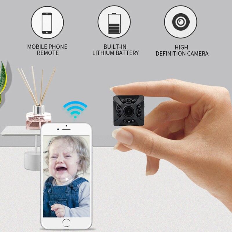 Micro Home Wi Fi Wireless Video Wai Fi CCTV Mini Security Surveillance With Wifi IP Camera Nanny Cam Camara For Phone Wai File