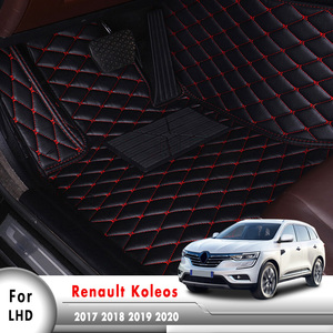 Car Floor Mats For Renault Koleos 2020 2019 2018 2017 Auto Foot Pad Automobile Carpets Covers Interior Accessories Styling(China)