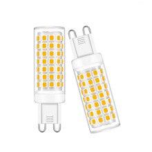 Lâmpada led g9 lâmpada led 7w 9 12 15 ac 220v lâmpada smd2835 led spotlight lustre iluminação lâmpada halógena 3000k 4000k 6500k