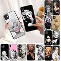 Чехол для телефона YNDFCNB, марилин Монро, для iPhone 11, 8, 7, 6, 6S Plus, X, XS MAX, 5, 2, 6, SE, 2020, XR, 11 pro