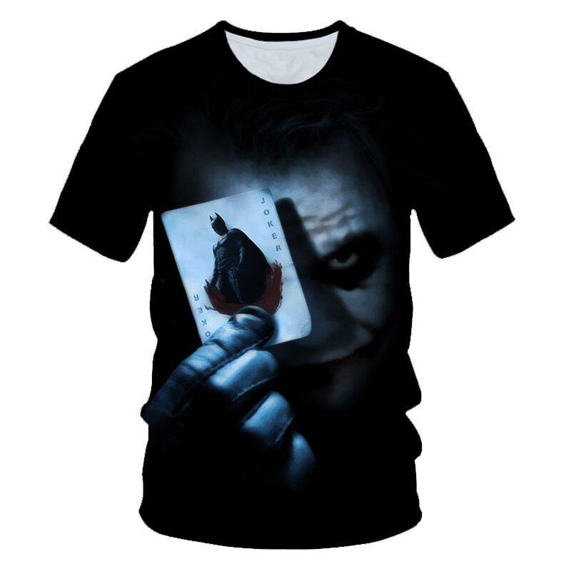 T-SHIRT T SHIRT MAGLIA MAGLIETTA UOMO WHY SO SERIOUS JOKER BATMAN FILM