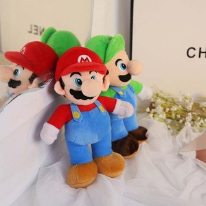 Super Mario Plush Toys Soft Stuf Mario Bros Stuffed Baby Doll Toys For Children Kids Boy Girls Birthday Christmas Gift Game Doll