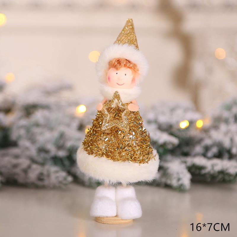 2020 New Year Gift Cute Christmas Angel Doll Xmas Tree Ornament Noel Deco Christmas Decoration for Home Natal Navidad 2019 Decor 40