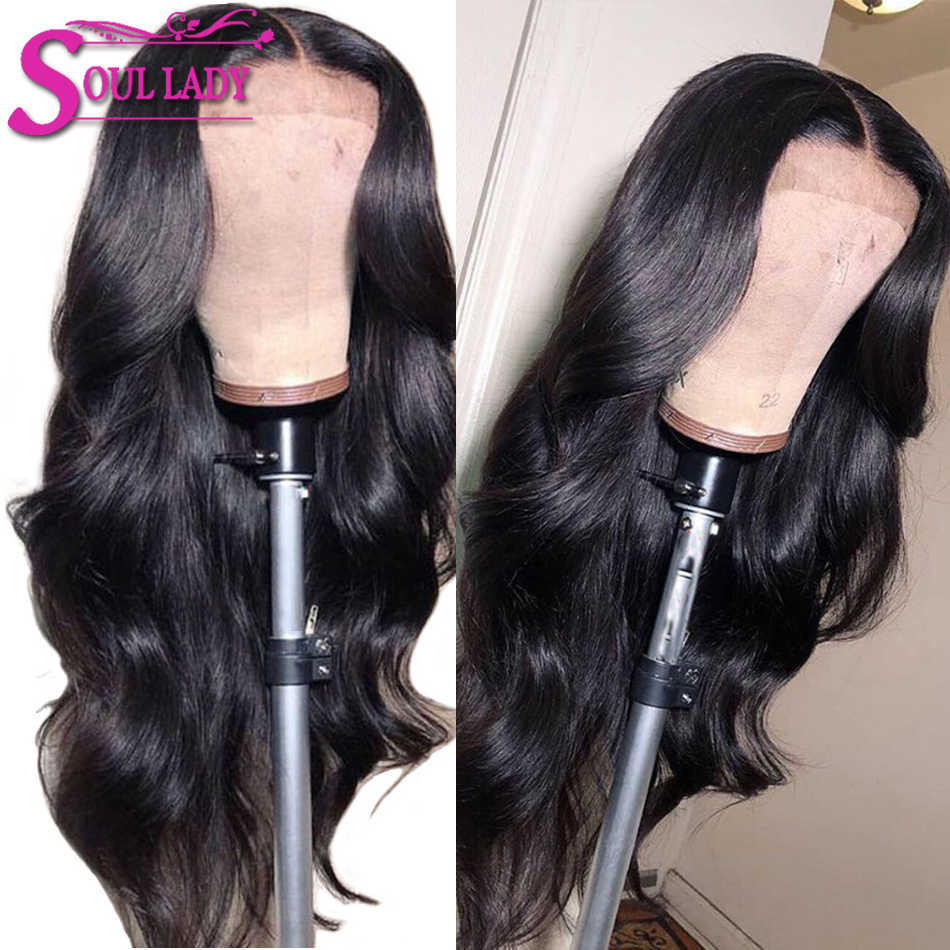 Transparent Lace Wigs 13x4 Body Wave Lace Front Human Hair Wigs For Black Women Pre Plucked Hairline Malaysian Remy Hair Wigs