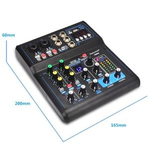 Image 3 - 전문 믹서 HM 시리즈 6 채널 8 채널 USB 사운드 카드 16 DSP 사운드 콘솔 장비 DJ 믹서 USB 사운드 카드