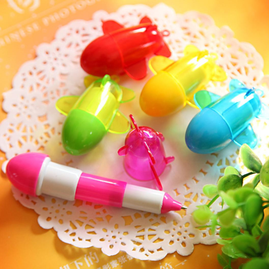 Lovely Creative Ballpoint Pen Cute Learning Stationery Can Elongation To Shorten Student School Office Writing Pen Tool