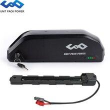 Batterie électrique debike de 48V 17.5Ah 15Ah 13Ah 10Ah Polly avec la cellule puissante de Li ion de Samsung pour le moteur de Bafang de 1000W 750W 500W 350W