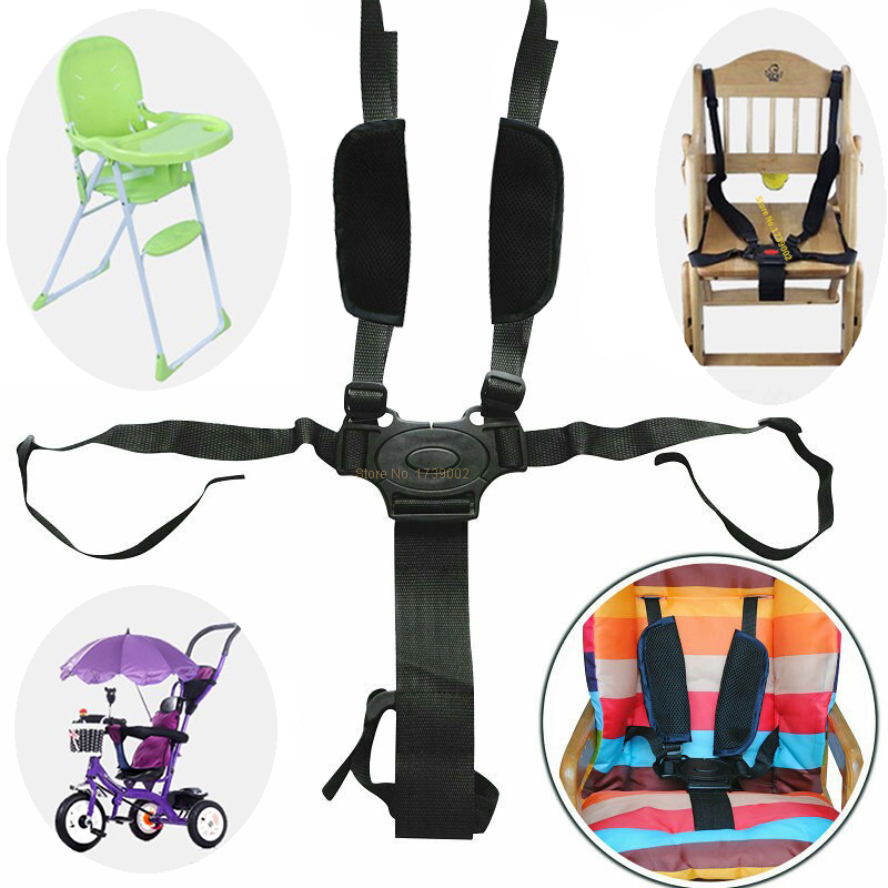 Baby Seat Belt Car Seat Safety Baby Chair Belt Strap Universal High Chair Durable Pushchair