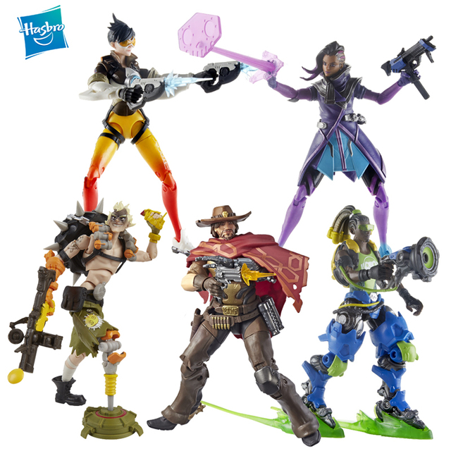 Hasbro Overwatch Ultimates Series McCREE Lucio Tracer Sombra 6