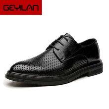 Sapatos de casamento homens escritório corporativo sapatos para homens coiffeur vestidos de baile 2020 marca italiana sapatos formais de couro vestido buty