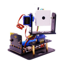 Yahboom microbit fpv カメラジンバルマイクロ: ビットロボット wifi 車インテリジェントビジョンキット rc カーロボットスペアパーツ