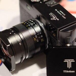 Image 4 - TTArtisan 21 millimetri F1.5 Pieno Fame Lens per Leica M Mount Telecamere Come Leica M M M240 M3 M6 M7 m8 M9 M9p M10 lente 21 1.5lens