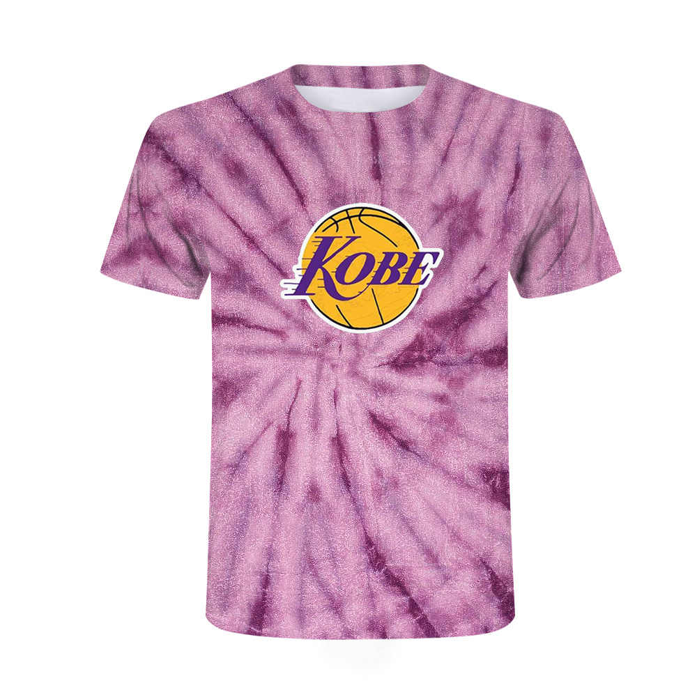 HOT Unisex Kobe Bryant 3D Printed T Shirt Casual Short Sleeve O Neck Tops