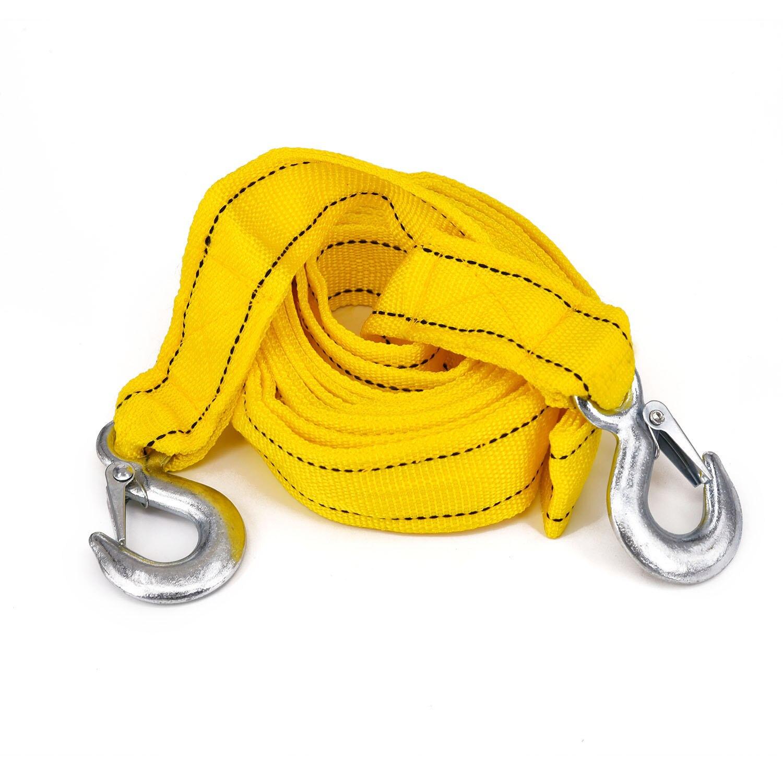 cabo de reboque corda com ganchos pesados recentemente