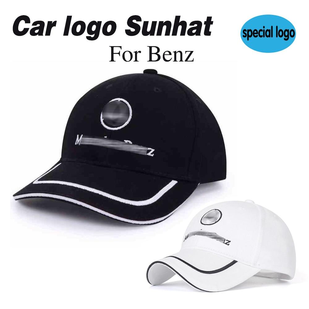 Auto logo del cappello di baseball Cappellini ricamo emblema All'aperto degli uomini di hip hop berretto con visiera per mercedes benz cappelli copricapo copricapo chapeau nero 2020