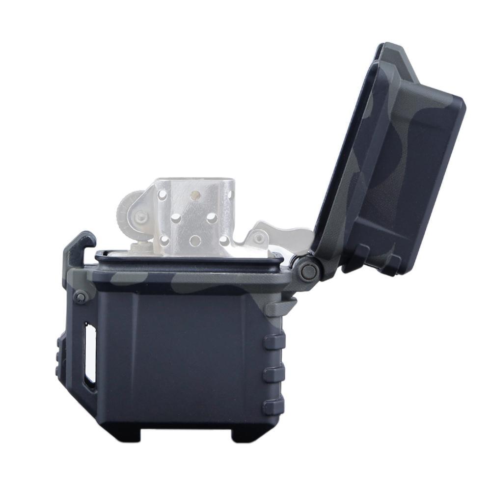 Тактический чехол для зажигалки, чехол для зажигалки Zippo, внутренний контейнер для зажигалки, органайзер с держателем, походный инструмент ...