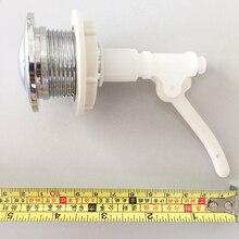 Замена оборудования Легкая установка Кнопка Гальванизированный двойной заподлицо пружинный пресс тип прочный Сантехнический бачок унитаза