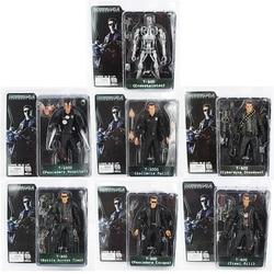 NECA The Terminator T-800 T-1000 Endoskeleton PVC Action Figure Collectible Model Toy