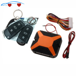 Universal Car Alarm automatyczny zdalny centralny System blokowania zestaw zamka drzwi dostęp bezkluczykowy System bezpieczeństwa z pilotem