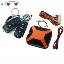 Universal Car Auto Alarm Remote Central Locking System Kit D