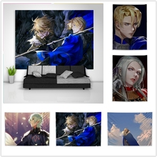 Poster Fire-Emblem Wall-Hanging Home-Decor Three Tapestry Table-Bed-Cover Houses Sofa