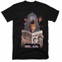 Один дома фильм homme Футболки Одежда в стиле хип хоп футболка