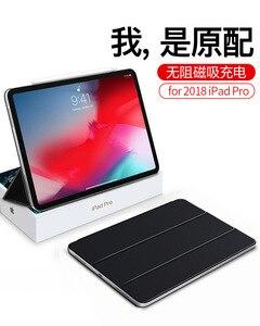 Ringke многофункциональная искусственная кожа смарт-чехол для Ipad Pro 12,9 дюймов флип-чехол для Ipad Pro 11 дюймов 2018 Funda Capa