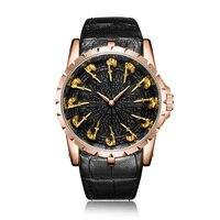 Vintage Best Watches For Man Waterproof Band Wristwatch Style 3D Designer Luxury Brand Mens Gold Watch European Watch Brands