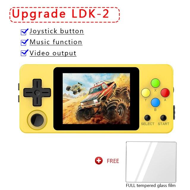 CONSOLE OPEN SOURCE, LDK Version horizontale jeu de paysage 2.6 pouces écran Mini Portable famille Portable Portable