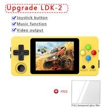 وحدة تحكم مفتوحة المصدر ، LDK النسخة الأفقية المشهد لعبة 2.6 بوصة شاشة صغيرة يده الأسرة المحمولة