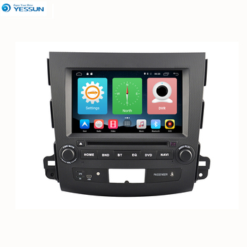 Yessun Car Navigation GPS For Mitsubishi Outlander 2007~2012 Android HD Touch Screen Audio Video Radio Stereo Multimedia Player.