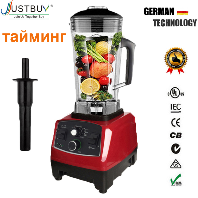 US EU Quality G5200 BPA FREE 3HP 2200W Heavy Duty Commercial blender Juicer Ice Smoothie Professional