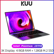 KUU YOBOOK All Metal 13.5 Inch 3K IPS Screen Intel Pentium Quad Core Laptop Backlit Keyboard Windows 10 Student Office Notebook