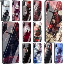 EWAU Madara Uchiha Naruto Tempered Glass phone case for