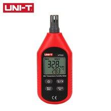 UNI-T ut333/ut333bt mini medidor de umidade de temperatura de pouco peso design ergonômico interface amigável max/min modos