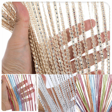 Decorative Door and Window Panel Fly Screen Fringe Room Screen Tassel Panel Beaded Curtains Home Decoration