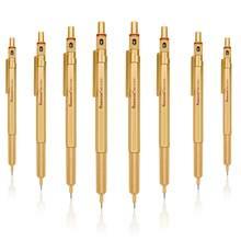 Crayon mécanique rechargeable, Kawaii, 0.5, 0.7, 0.9, 2.0, plomb, professionnel, dessin, mécanique, école, papeterie pour filles