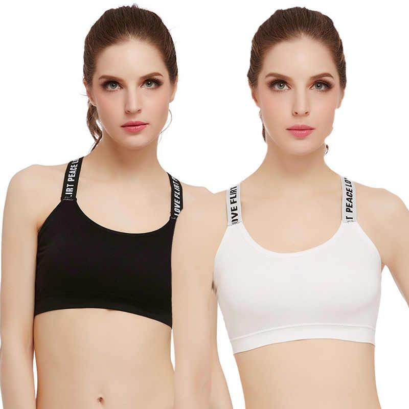 Sport Bra Women Stretch Workout Tank Top Seamless Fitness Yoga Padded Sports Bra Running Underwear Push Up Seamless Yoga Top Bra