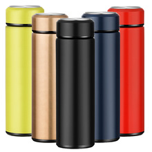 Stainless steel vacuum flask stainless travel mug thermal bottle insulated 12-24 hours Eco-Friendly Hand Pressing Type