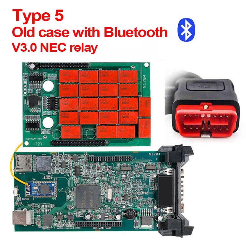 CDP TCS V3.0 эстафета NEC OBD2 сканер,00 keygen cdp tcs Multidiag pro автоматический диагностический инструмент для автомобилей грузовиков OBDII считыватель кодов - Цвет: Old CDP TCS BT
