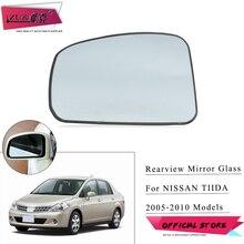 ZUK Für Nissan TIIDA LATIO VERSA C11 2005 2010 Für Dodge Trazo Außentür Rück Seite Spiegel Glas Objektiv erhitzt