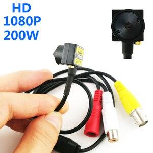 Image 1 - 200 w hd 1080 p ahd câmera micro mini câmeras de vigilância cctv para ahd dvr sistema de segurança