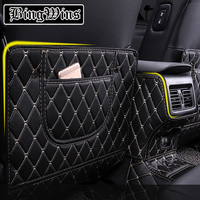 Car styling For Toyota 8th Camry 2018 Interior Seat Protector Side Edge Protection Pad Car Stickers Anti kick Mat