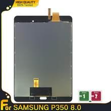 Voor Samsung Galaxy Tab Een 8.0 P350 P355 Tablet Lcd Dispaly Touch Screen Digitizer Sensoren Volledige Vergadering Panel Vervangende Onderdelen