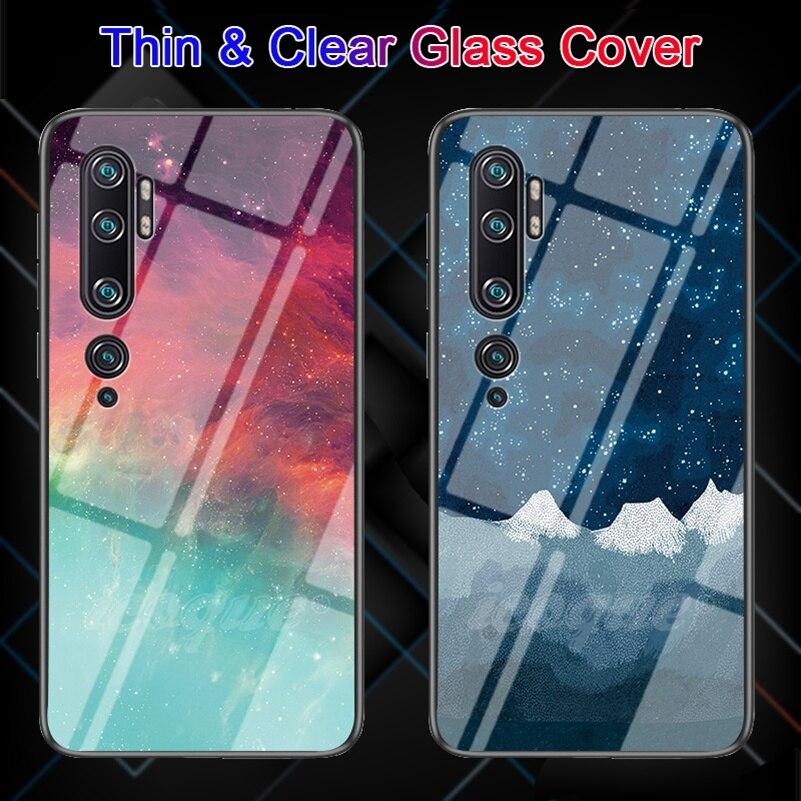 Tempered Glass Case For Xiaomi Mi Note 10 Lite 8 9 9T CC9 Note10 Pro Xiami Phone Cover Coque For Xiaomi Mi Note 10 Pro Play Case