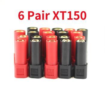 Enchufe adaptador XT150 Original AMASS, 6 pares, 6mm, macho, hembra, 120A, gran corriente, para baterías 1