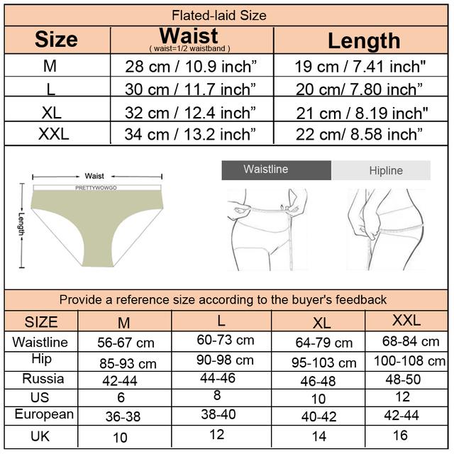 3pcs/lot High Quality Underpants Womens