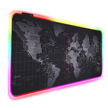 Gaming Mouse Pad RGB Mouse Pad Gamer Computer Mousepad RGB Backlit Mause Pad Large Mousepad XXL For Desk Keyboard LED Mice Mat(China)