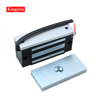 12V 60kg Electronic Electric Magnetic Lock fail safe DC EM Locks Holding Force Electromagnetic mini M60 for Door Entry Access 280kg 600lb single door 12v electric lock for door magnetic electromagnetic lock holding force for access control with feedback
