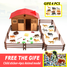 25pcs farm Toys & hobbies anime figure animals action figure anime toys set educational toys for children boys christmas gift cmt instock yoroiden samurai troopers armor plus shin action figure anime toys figure